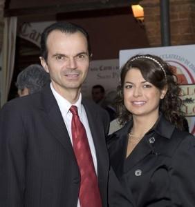 Luciano e Benedetta Spigaroli
